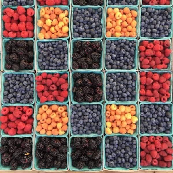 Ensalada, Frutas, Bayas, Saludable